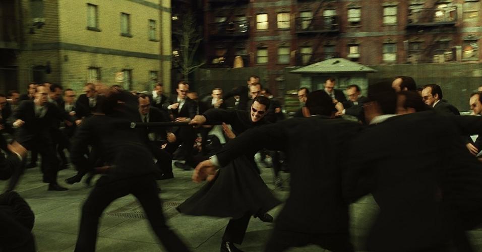 """Cena de """"Matrix Reloaded"""" (2003)"""