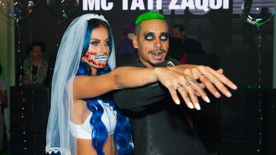 Tati Zaqui é pedida em casamento - Samuel Chaves/BRAZIL NEWS