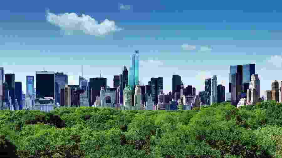 Vista para o Central Park, em Nova York - Divulgação