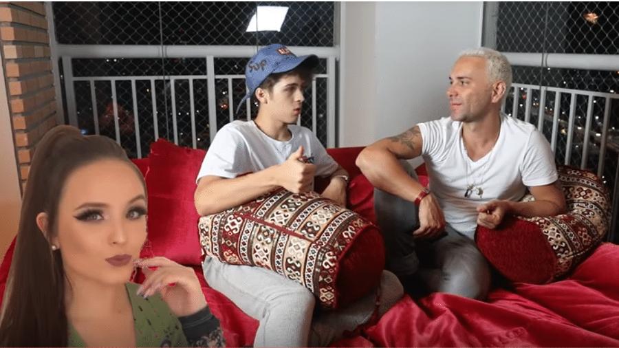 João Guilherme é entrevistado por Matheus Mazzafera - Reprodução/YouTube