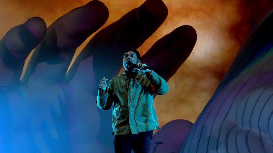 O show de The Weeknd no Coachella - Getty Images