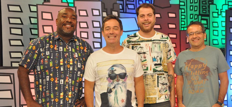 """""""Encrenca"""", da Rede TV!, ganha cenário novo - Rede TV!/Divulgação"""