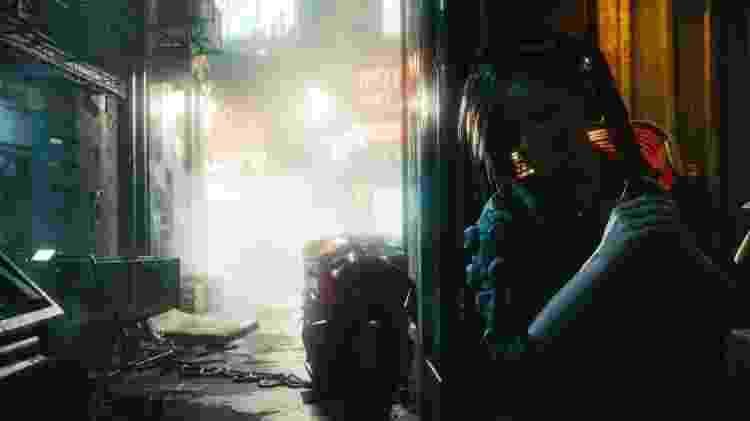 Cyberpunk 2077 - Imagem do jogo futurista - Divulgação - Divulgação