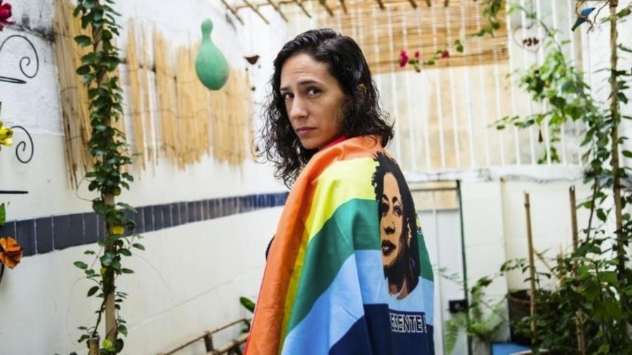 Mônica Teresa Azeredo Benício, viúva de Marielle Franco - Elisângela Leite/Anistia Internacional