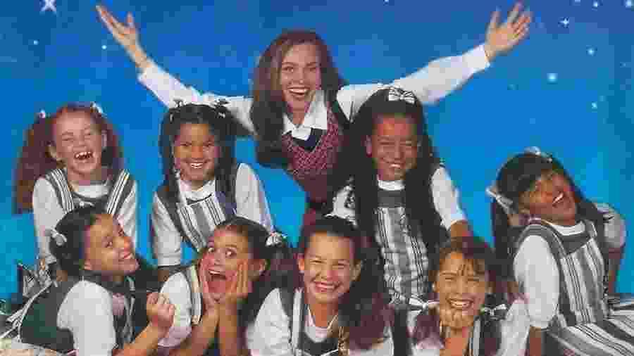 """Capa do primeiro CD de """"Chiquititas"""" - Reprodução"""