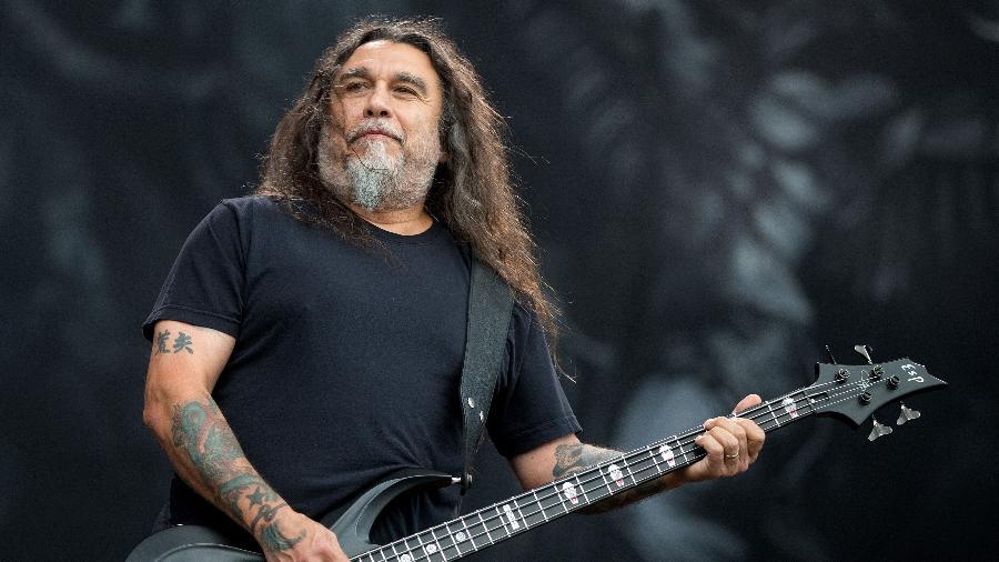 Tom Araya, líder do Slayer e abertamente conservador - Getty Images