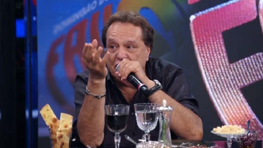 """Dennis Carvalho no """"Domingão do Faustão"""" - Reprodução/Globo"""