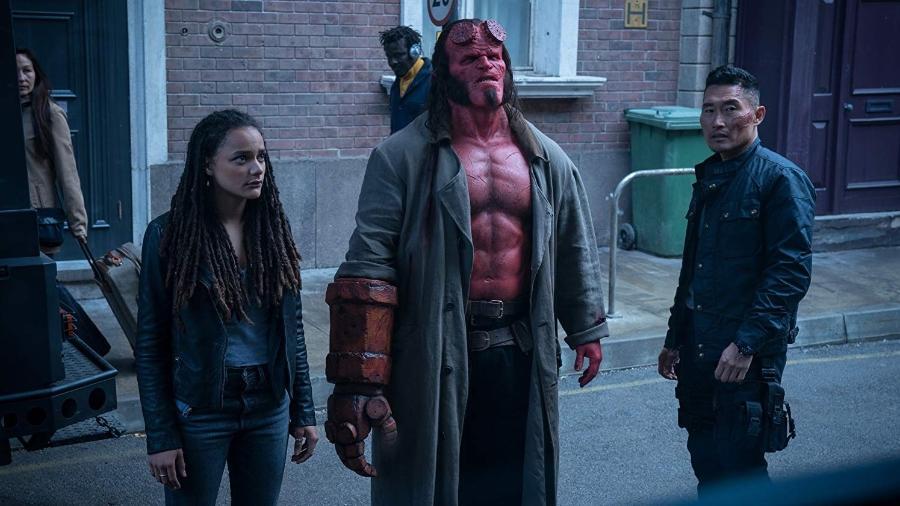 """Cena de """"Hellboy"""" - Divulgação"""