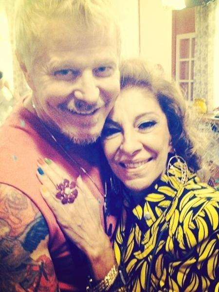 Miguel Falabella e Marília Pêra - Reprodução/Instagram