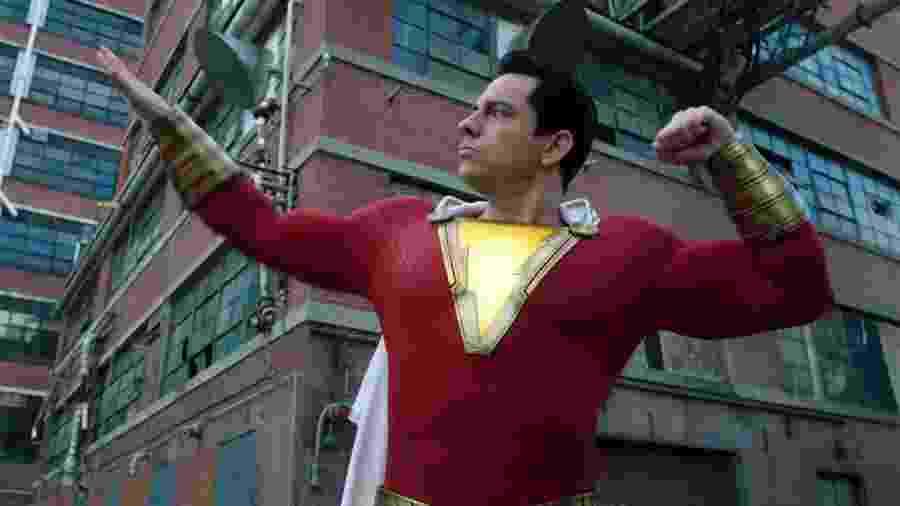 """Zachary Levi em cena do segundo trailer de """"Shazam!"""" - Reprodução/YouTube"""