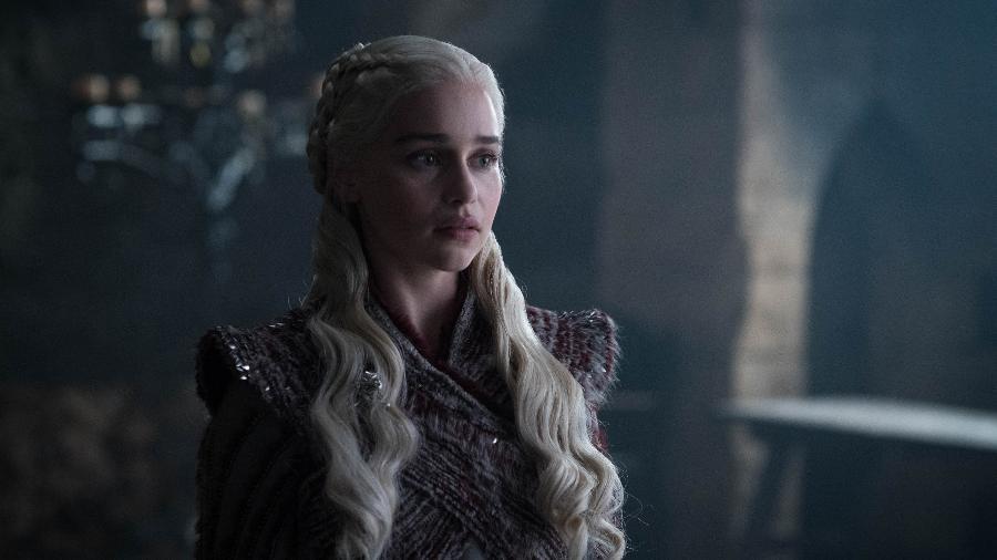 """Daenerys (Emilia Clarke) em cena da oitava temporada de """"Game of Thrones"""" - Divulgação/HBO"""
