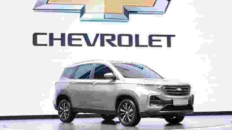 O nome é Baojun 530, mas pode chamar de Chevrolet Captiva - Divulgação