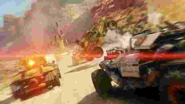 Os veículos são máquinas de combate fundamentais na exploração dos cenários - Divulgação