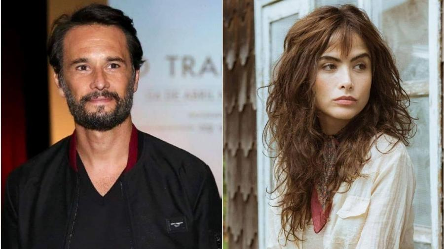 Rodrigo Santoro e Maria Casadevall poderão estrelar nova série para Netflix - Manuela Scarpa/Brazil News Maurício Fidalgo/TV Globo Montagem/UOL