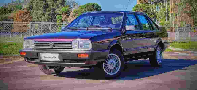 Santana foi um dos carros mais luxuosos da VW nos anos 80 e 90 - Robert Mathias/UOL
