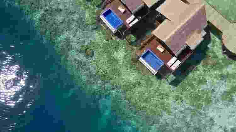 Vista aérea do Grand Park Kodhipparu, nas ilhas Maldivas - Divulgação - Divulgação