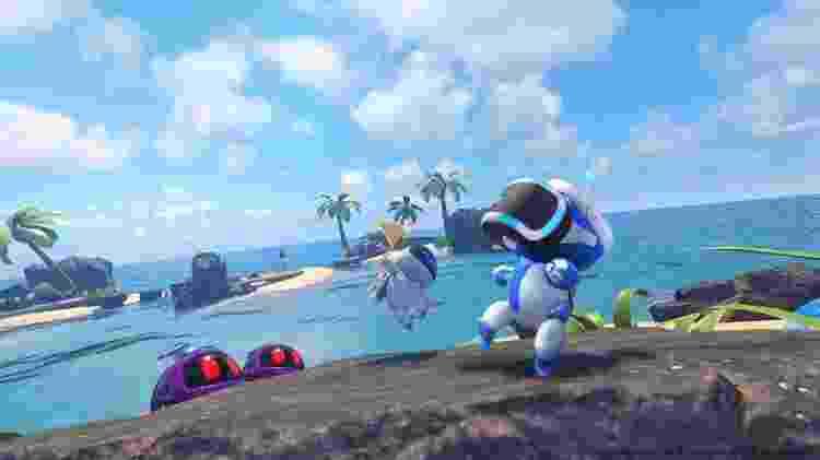 Robozinhos simpáticos também curtem jogar em VR - Divulgação