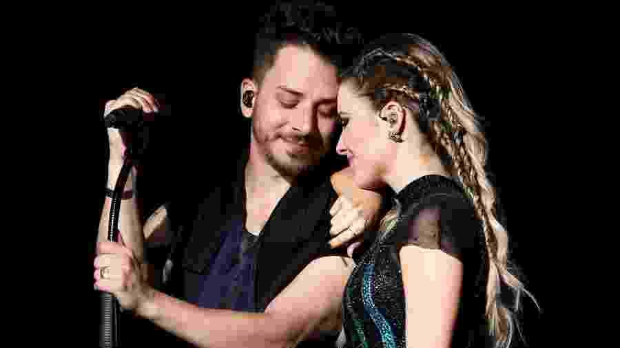 Sandy e Junior no show em São Paulo - Manuela Scarpa/Brazil News