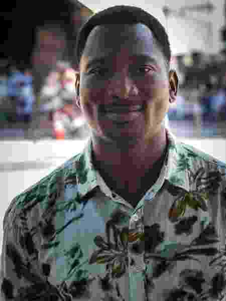 Tafa chegou ao Brasil há 2 anos depois de passar por Mali e Congo - Felipe Crespan