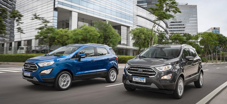 Em outubro de 2020, executivos da Ford do Brasil disseram a concessionários que ainda negociavam com matriz nos EUA a produção em Camaçari (BA) da 3ª geração do EcoSport - Divulgação