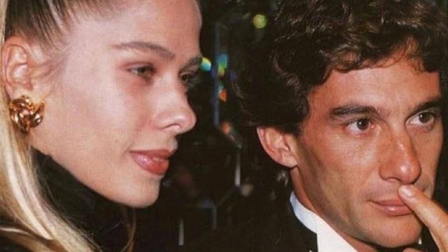 Adriane Galisteu namorou Ayrton Senna em 1993, meses antes de o piloto morrer em uma corrida da Fórmula 1 - Reprodução/Instagram