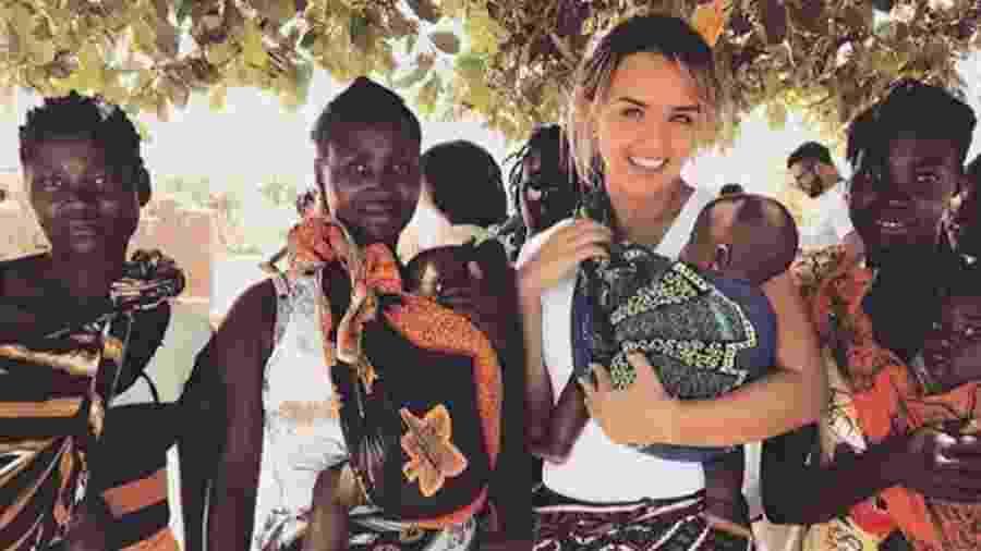 Rafaella Kalimann na África - Reprodução/Instagram
