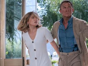 Daniel Craig e Léa Seydoux em 007 - Sem Tempo Para Morrer - Divulgação - Divulgação