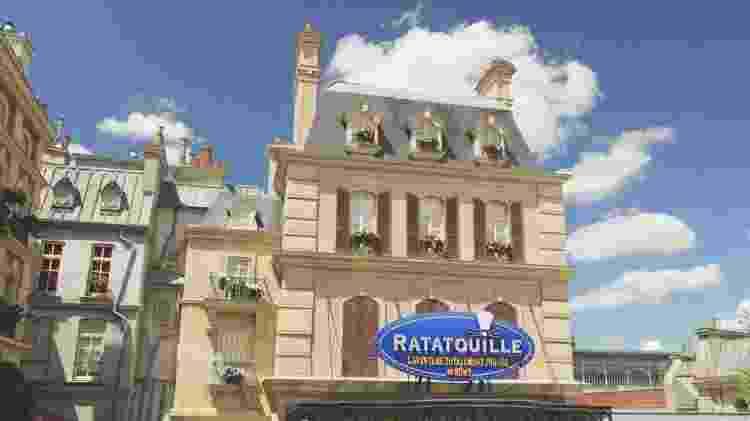 Ratatouille na Disney Paris - Divulgação - Divulgação
