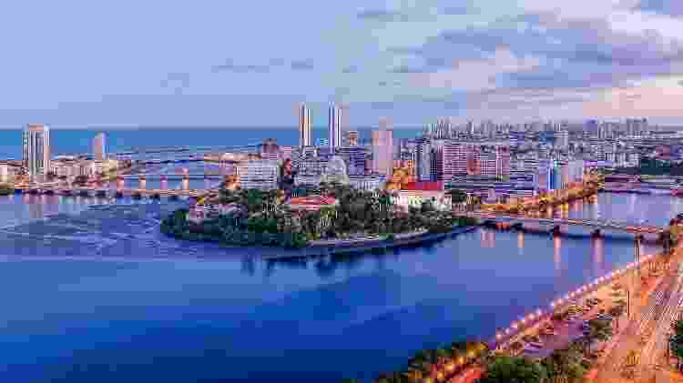 Vista panorâmica de Recife - Getty Images/iStockphoto - Getty Images/iStockphoto