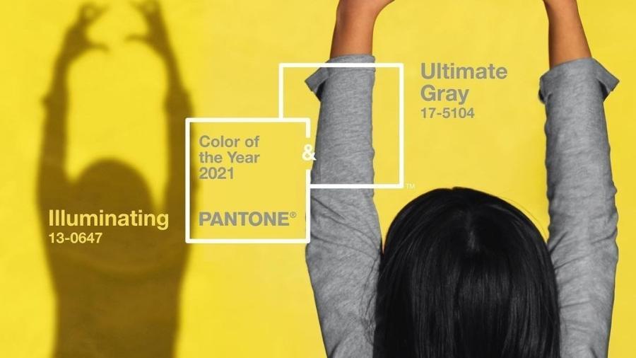 Cor do ano PANTONE 2021 - Reprodução/Instagra,