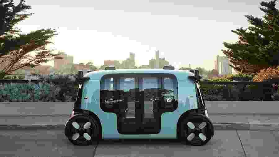 Veículo autônomo da Zoox - Divulgação