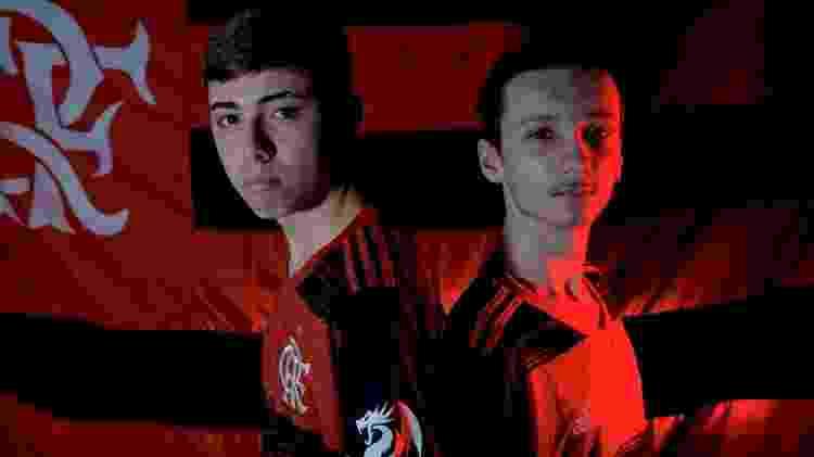CBLoL - Divulgação/FlamengoeSports - Divulgação/FlamengoeSports