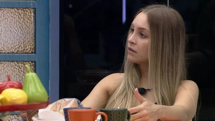 BBB 21: Carla Diaz conversa na xepa - Reprodução/ Globoplay