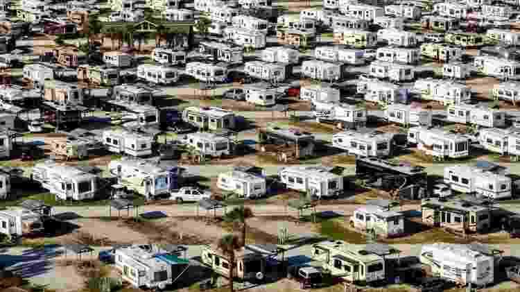 Nos Estados do meio-oeste e oeste dos Estados Unidos, existem grandes extensões de terrenos públicos - Getty Images - Getty Images
