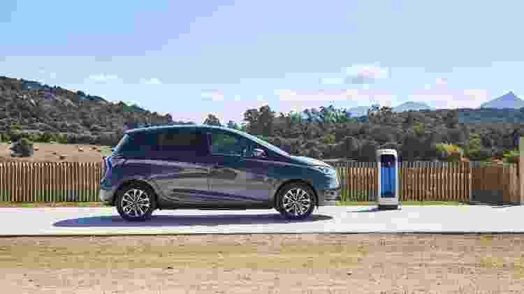 Renault Zoe E-Tech 2022 - Divulgação - Divulgação