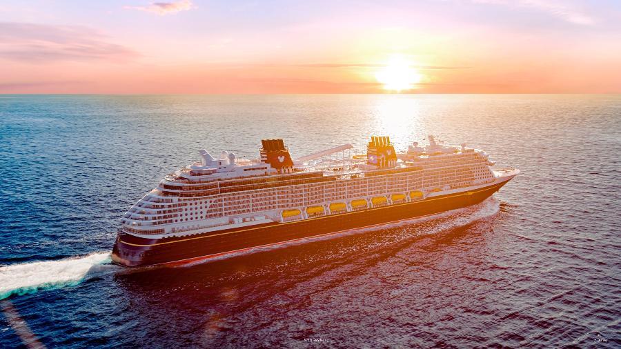Embarcação que viajará da Flórida para o Caribe terá saídas entre junho e setembro de 2022 - DCL