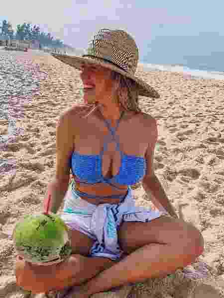 Gabriela Vicente adora praia e sol; atualmente ela vive no Rio de Janeiro - Reprodução/Instagram - Reprodução/Instagram