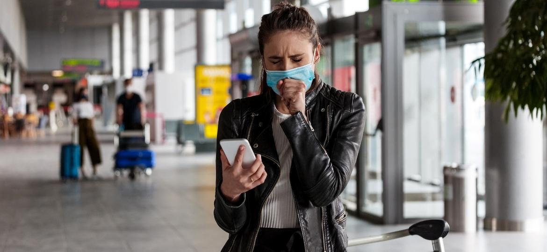 Medo de se infectar é uma das fobias que a pandemia trouxe aos viajantes - Getty Images