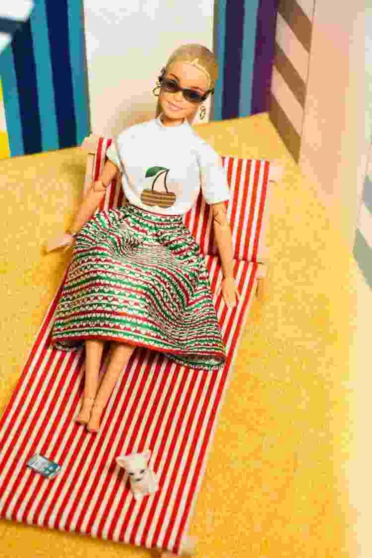 Barbie e sua coleção de diversidade assinada por Alessandro Enriquez na Semana de Moda de Milão em setembro de 2021 (5) - Divulgação - Divulgação
