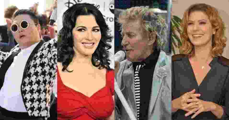 Capricornianos famosos - Getty Images/Divulgação/TV Globo