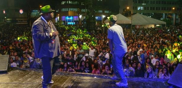 Palco Largo da Carioca do Festival Rio Parada Funk (2015) - Alex Carvalho/Divulgação