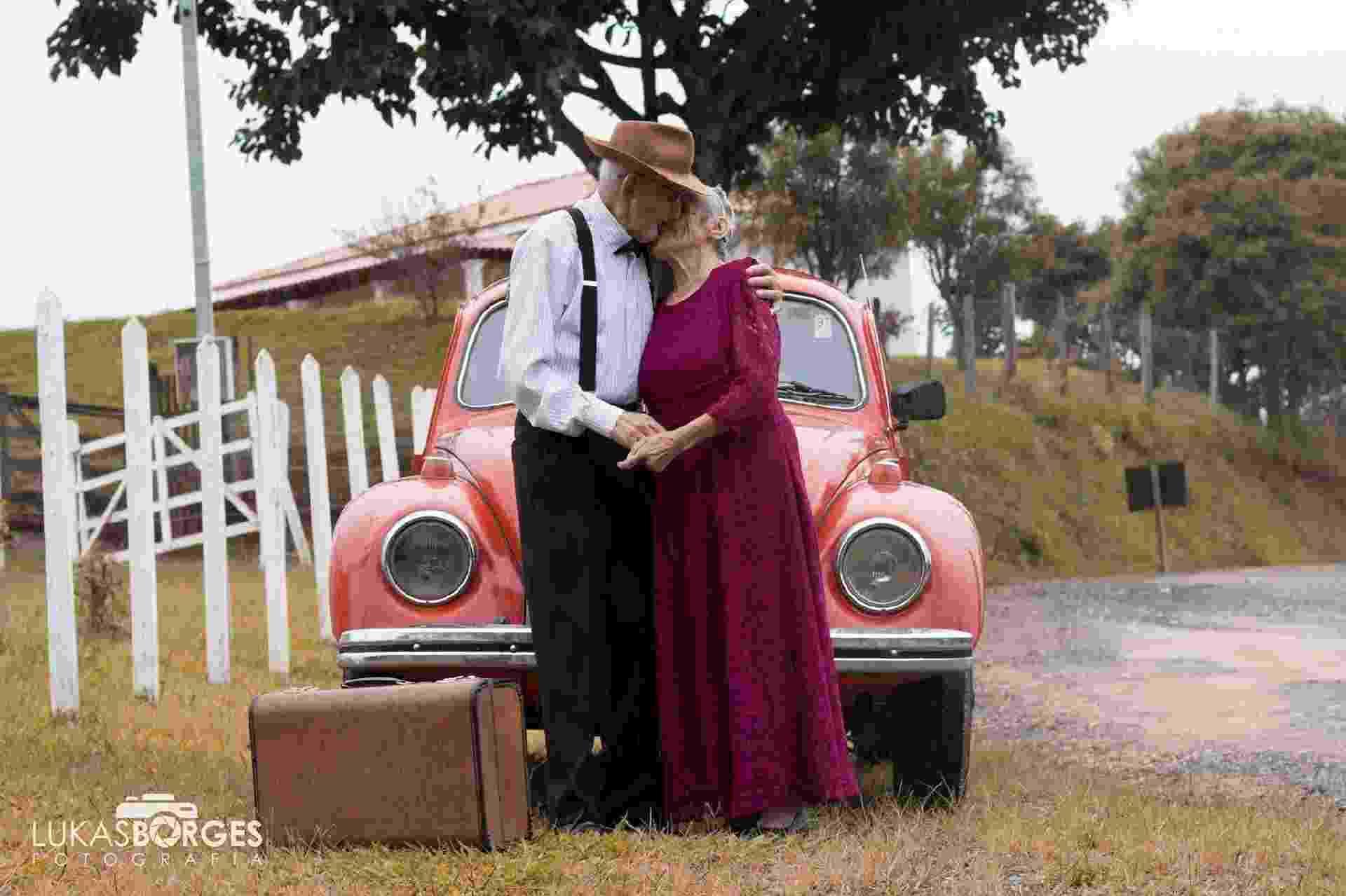 Ensaio de bodas de 70 anos - Reprodução/Facebook/Lukas Borges