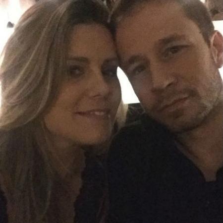 Daiana Garbin e Tiago Leifert - Reprodução/Instagram/garbindaiana