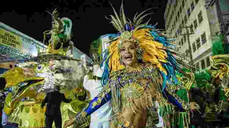 Luciane Santos, a Preta, rainha da Gigante do Samba - Tiago Calazans/UOL