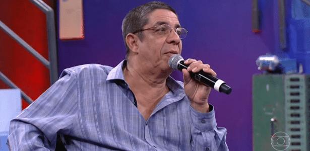 """Zeca Pagodinho é criticado na web após resposta não tão delicada a garoto no """"Altas Horas"""", da Globo"""