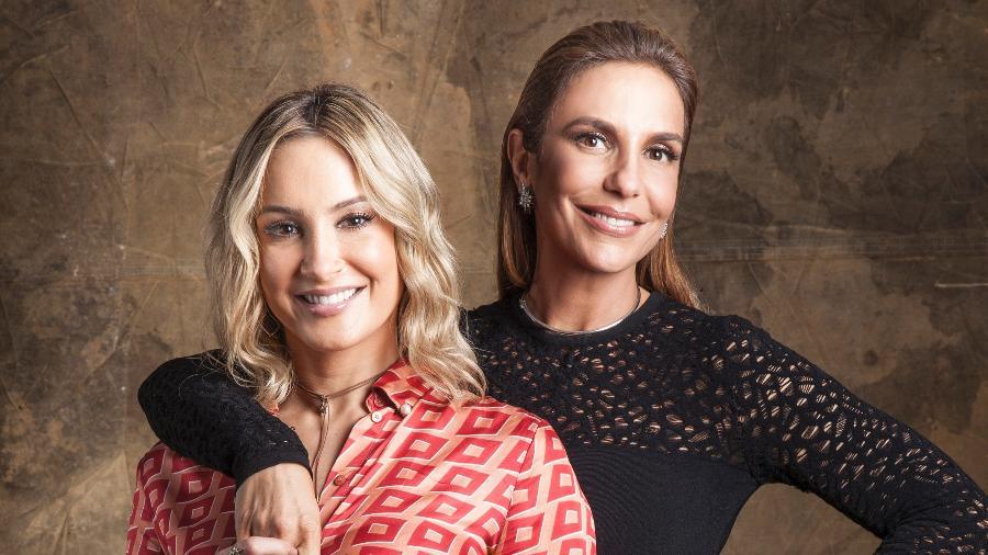 """Ivete Sangalo e Claudia Leitte trocam de lugar no """"The Voice Brasil"""" - Sergio Zalis/Divulgação/TV Globo"""