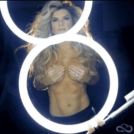 Mirella Santos em ensaio de topless - Reprodução/Instagram