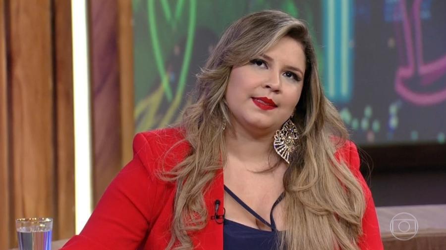 """Marília Mendonça no """"Conversa com Bial"""" - Reprodução/Globo"""
