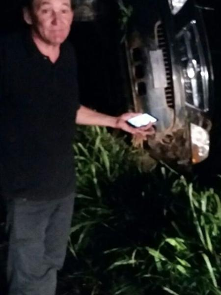 MArquito sofre acidente de carro na BR 116 - Reprodução/Instagram/marquitosbtoficial
