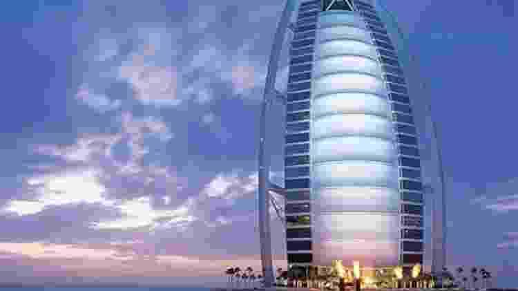 Burj Al Arab (Dubai, Emirados Árabes Unidos) - Divulgação - Divulgação